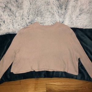 Cotton On Light Sweater Crop